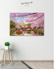 Japan Temple Landscape View Canvas Wall Art - Image 2