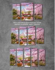 Japan Temple Landscape View Canvas Wall Art - Image 6