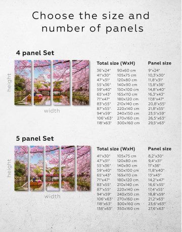 Japan Temple Landscape View Canvas Wall Art - image 9