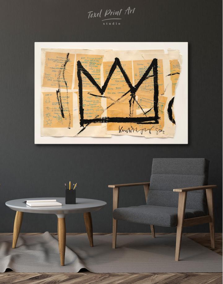 Crown Canvas Wall Art