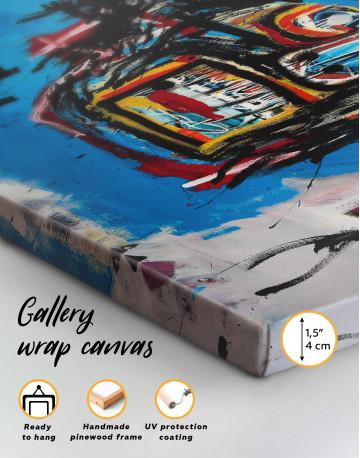 Head Graffiti Canvas Wall Art - image 2