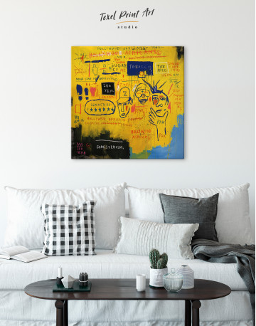 Hollywood African Canvas Wall Art