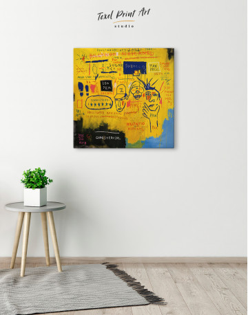 Hollywood African Canvas Wall Art - image 3