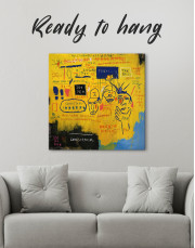 Hollywood African by Jean Michel Basquiat Canvas Wall Art - Image 4