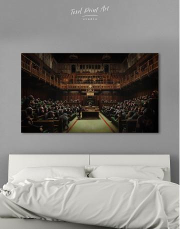 Devolved Parliament Canvas Wall Art - image 8