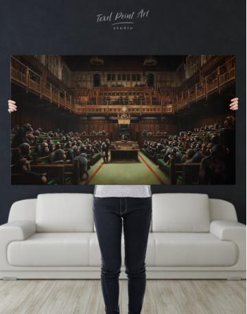 Devolved Parliament Canvas Wall Art - image 3