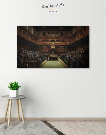 Devolved Parliament Canvas Wall Art