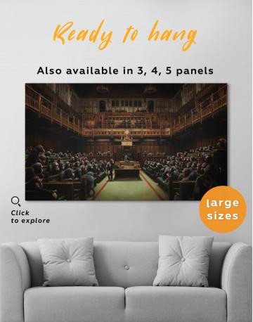 Devolved Parliament Canvas Wall Art - image 2