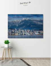 Vancouver North Shore Mountains Canvas Wall Art - Image 8