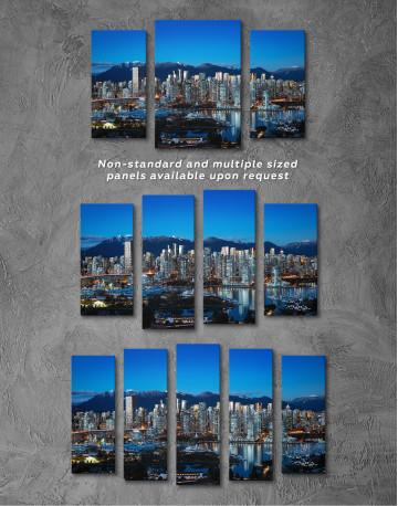Beautiful British Columbia Vancouver Cityscape Canvas Wall Art - image 5