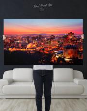 Sunset Cityscape View Canvas Wall Art - Image 8