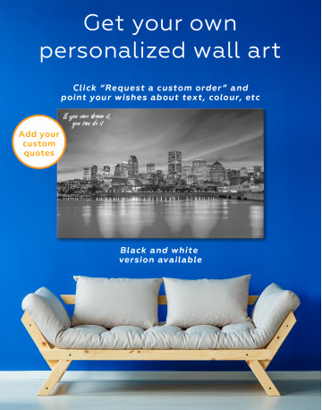 Resort Town Cityscape Canvas Wall Art - image 4
