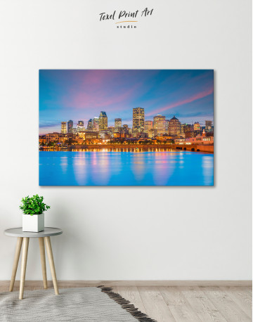 Resort Town Cityscape Canvas Wall Art - image 5