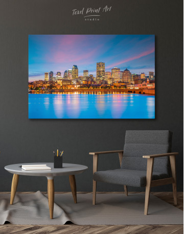 Resort Town Cityscape Canvas Wall Art - image 2