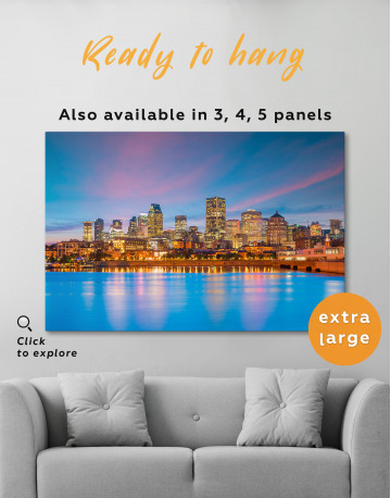 Resort Town Cityscape Canvas Wall Art - image 6