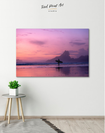 Beautiful Ocean Landscape Canvas Wall Art - image 3