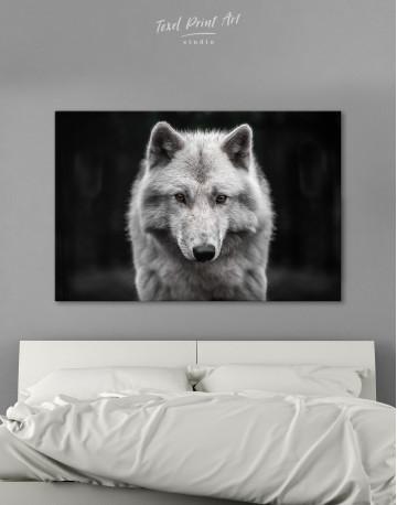 Gray Wolf Canvas Wall Art