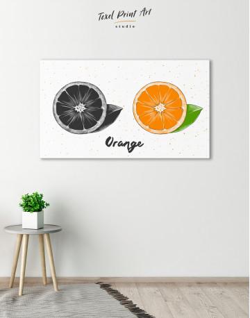 Citrus Orange Canvas Wall Art - image 6