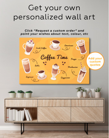 Coffee Time Canvas Wall Art - image 5