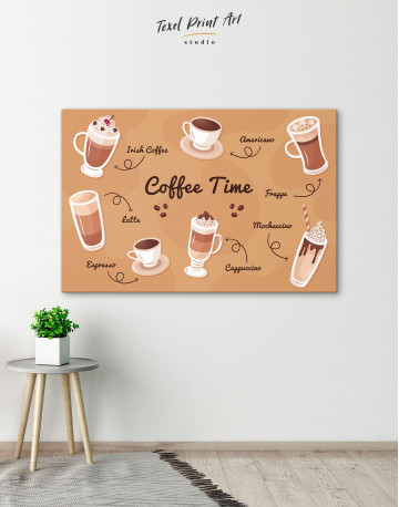 Coffee Time Canvas Wall Art - image 4