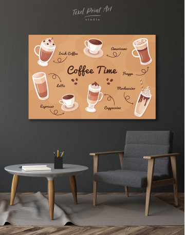 Coffee Time Canvas Wall Art - image 3