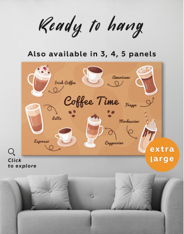 Coffee Time Canvas Wall Art - image 2