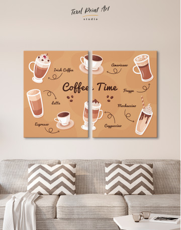 Coffee Time Canvas Wall Art - image 8