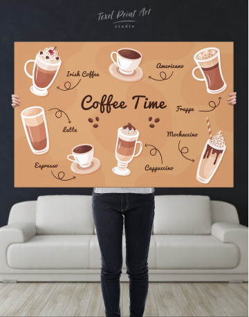 Coffee Time Canvas Wall Art - image 7