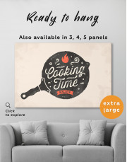 Cooking Time Enjoy Canvas Wall Art - Image 4