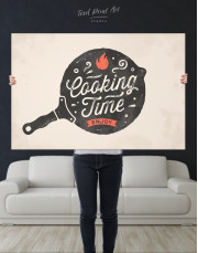 Cooking Time Enjoy Canvas Wall Art - Image 5