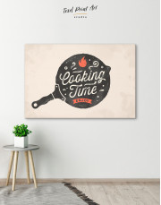 Cooking Time Enjoy Canvas Wall Art - Image 3