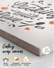 Cooking With Love Canvas Wall Art - Image 8