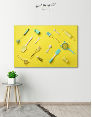 Utensils for Kitchen Canvas Wall Art - Image 5