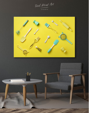 Utensils for Kitchen Canvas Wall Art - image 6