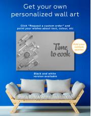Kitchenware Canvas Wall Art - Image 3