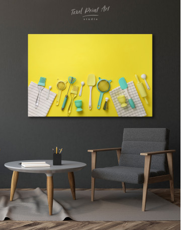 Cooking Background Canvas Wall Art - image 4