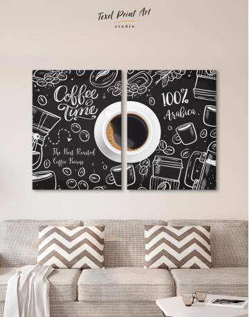 Coffee Time with Arabica Canvas Wall Art - image 10
