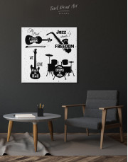 Music Style Quotes Canvas Wall Art - Image 3