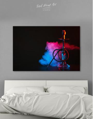 Hookah Photo Canvas Wall Art