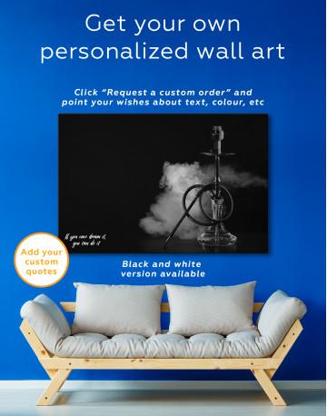 Hookah Photo Canvas Wall Art - image 5
