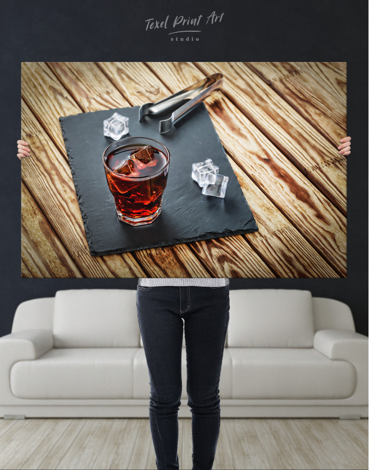 Old Fashioned Cocktail Canvas Wall Art - Image 8