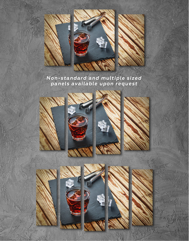 Old Fashioned Cocktail Canvas Wall Art - Image 7