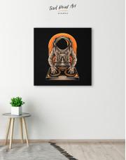 Astronaut Music Dj Canvas Wall Art