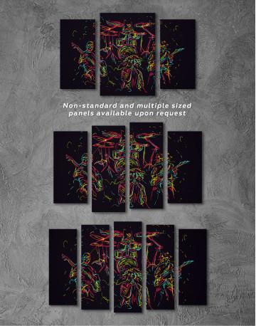 Abstract Music Band Canvas Wall Art - image 5