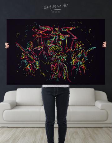 Abstract Music Band Canvas Wall Art - image 9