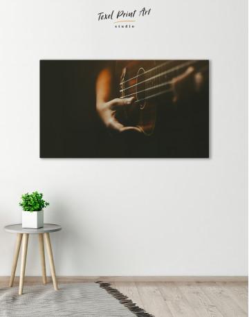 Acoustic Guitar Canvas Wall Art - image 6