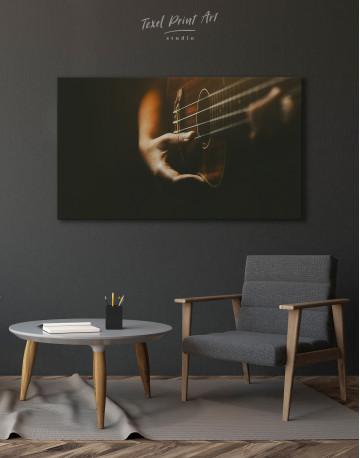 Acoustic Guitar Canvas Wall Art - image 4