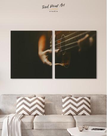 Acoustic Guitar Canvas Wall Art - image 10