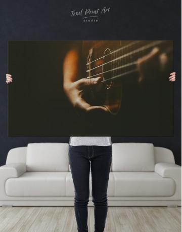 Acoustic Guitar Canvas Wall Art - image 9