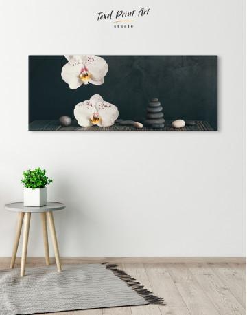 Zen Moth Orchid Canvas Wall Art - image 3